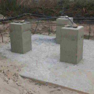 Udgravning til mobilmast
